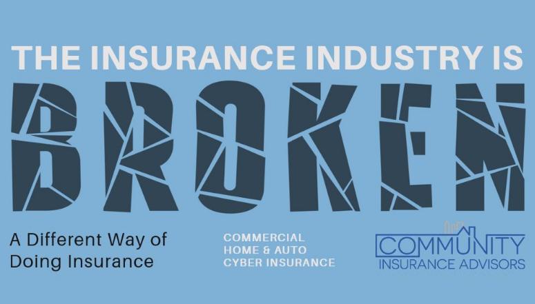 Insurance industry broken